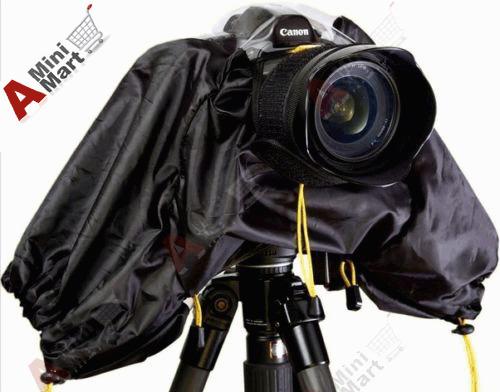 Raincoat Rainproof Rain Cover fr Canon DSLR SLR Camera T3i T4i T5i 600D 650D 7D