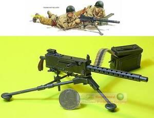 1-6-Scale-Action-Figure-DRAGON-WW2-US-ARMY-MACHINE-GUN-30-CAL-MODEL-M1919-A4
