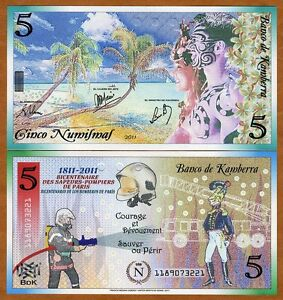 Kamberra-Kingdom-5-Numismas-2011-UNC-gt-200-years-to-French-Fire-Department
