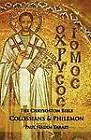 The Chrysostom Bible - Colossians & Philemon  : A Commentary by Paul Nadim Tarazi (Paperback / softback, 2010)