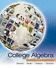 College Algebra: Concepts and Contexts by Lothar Redlin, Saleem Watson, Phyllis Panman, James Stewart (Hardback, 2010)