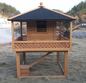 Chicken-Coop-RH8-Rabbit-and-Guinea-Pig-Hutches-Backyard-Poultry-Hen-House