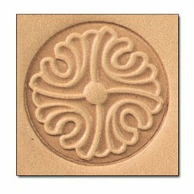 Button 3D Stamp 8660-00 by Tandy Leather Craftool