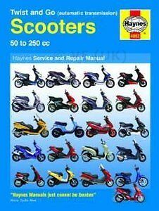 APRILIA MOJITO CUSTOM 50 HAYNES SERVICE & REPAIR MANUAL