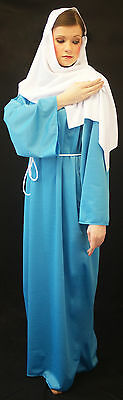 Christmas-Nativity-Bible-Ladies MARY MAGDALENE Costume Fancy Dress All Sizes