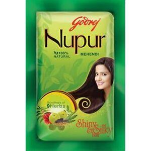 Godrej-Nupur-Mehndi-Henna-Heena-Hair-Color-Amla-100-Natural-Free-Ship-US-SELLER
