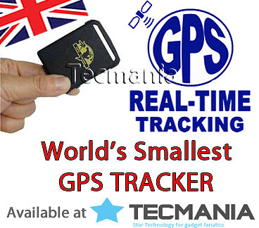 Realtime Mini Personal GPS Tracker GSM Car Tracking Spy Bug