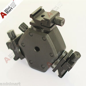 Adjustable-Tri-Flash-Sockets-Hot-Shoe-Cold-Shoe-Mount-Bracket-umbrella-Holder