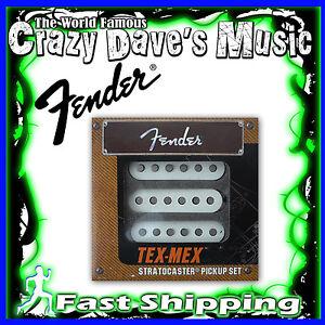 New-Fender-Original-Tex-Mex-Strat-Stratocaster-Guitar-Pickup-Pickups-Set-Pick-Up