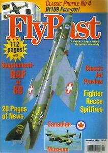 FlyPast-Magazine-206-Bf109-RAF-Recce-Spitfire-Canada-French-Le-Broussard-B-24