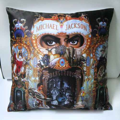 Michael Jackson Cushion Pillow Cover 1pc MJ dangerous style