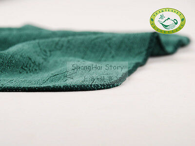 Professional Green Chinese Gongfu Tea Cloth Towel 28*28cm quick cleaner series