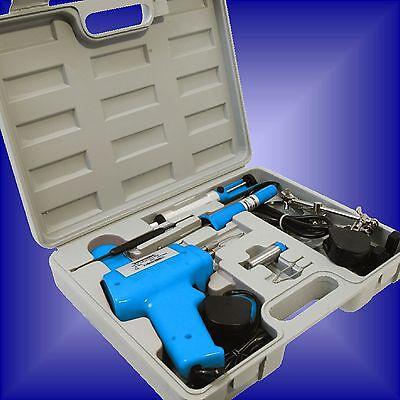 ELECTRIC SOLDERING KIT set iron gun solder stand tool