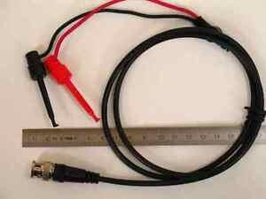 Tastkopf-Oszilloskop-Messkabel-mit-Abgreifklemmen-auf-BNC-Mini-Krokoklemmen