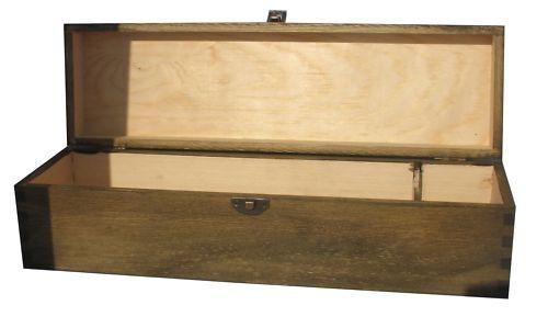 Weinkiste Holzkiste Holzbox Verpackung 34,5x 9 x 9,5 cm