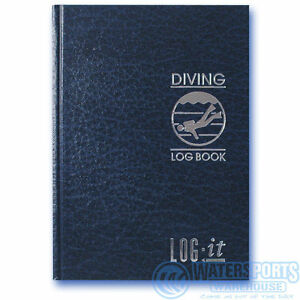 LOG-IT-Scuba-Divers-Dive-Log-Book-Hard-back-keep-a-record-of-all-your-diving