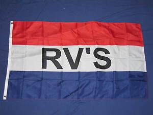RV's for sale flag 3x5 feet banner sign advertising