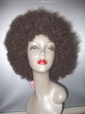 Jumbo Afro UNISEX Wig! Nice Quality! Dark Brown #4