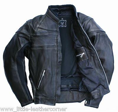 Skorpion Lederjacke Harley Motorradjacke Roadstar,Gr.50 Motorradlederjacke NEU