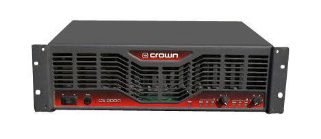 crown ce2000 2 channel power amplifier ebay. Black Bedroom Furniture Sets. Home Design Ideas