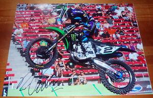 RYAN-VILLOPOTO-Signed-11x14-Original-Photo-1-Supercross-Motocross-Champ