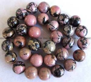 Rhodonite-Stone-Round-Beads-15-5-3mm-6mm-8mm-10mm-12mm-14mm-16mm