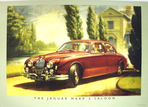 Jaguar XJ-SC V12 Classic Car Poster Picture Print