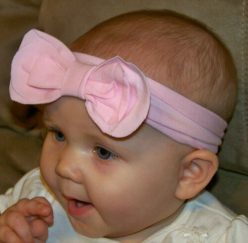 Soft Knit Headbands BOW match Flowers Feet Toes Baby Blooms US American Seller!