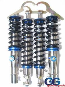 coilover suspension kit gaz gold ford fiesta st150 gga468 adjustable ride shock ebay. Black Bedroom Furniture Sets. Home Design Ideas