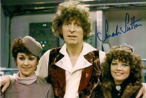 SARAH-SUTTON-DR-WHO-NYSSA-LOG-SIGNED-AUTOGRAPH-PRE-PRINTED-PHOTO-6-x-4-TOM-BAKER