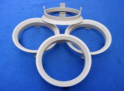 4 St a601561 anelli di centraggio 60,1//56,1 mm Beige per cerchi in lega