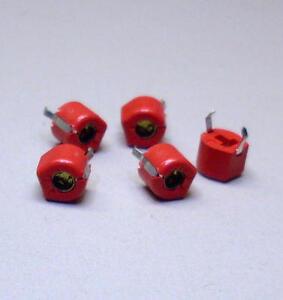 5-Stueck-Murata-Keramik-Trimmer-4-2-pF-20-pF-rot-TZ03R200-Typ-F-M3985