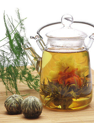 4 Random Types Blooming Tea * 4 Blooms * FREE Shipping