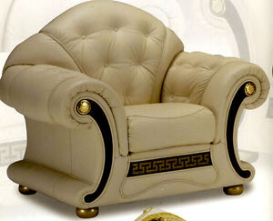 Couch sessel leder m belideen for Sofa wildleder