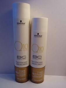 Schwarzkopf-BC-Bonacure-Q10-Time-Restore-Shampoo-amp-Conditioner-Duo-Set
