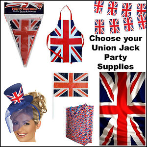 Union-Jack-Flags-Bunting-London-UK-Olympics-Gifts-Royals-STREET-PARTY-SUPPLIES