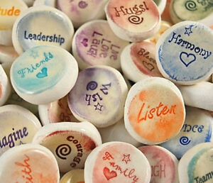 Ceramic-Stones-Handmade-Words-and-Phrases-Words-F-thru-K