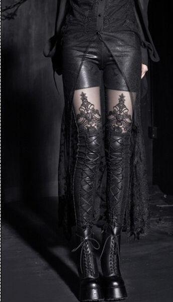 Punk Rave Gothic Noblesse Leggings EDEL ROMANTIC GOTH FETISH VISUAL KEI VK XXX
