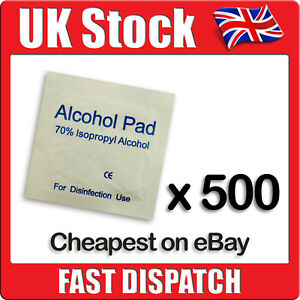 500-x-IPA-Wipes-70-Isoropyl-Alcohol-Swabs-NHS-Quality