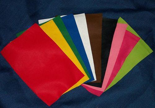 Filz 2 Platten 20x30cm ca. 2mm dick (farben 01) (Grundpreis 17,08 € je qm2)