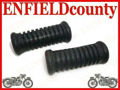 BRAND NEW ROYAL ENFIELD BULLET REAR FOOTREST RUBBER SPARES2U