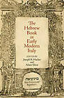 The Hebrew Book in Early Modern Italy by University of Pennsylvania Press (Hardback, 2011)