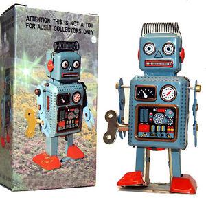 Tin-Toy-Radar-Robot-Wind-Up-Sale