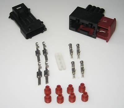 AMP JPT Junior Power Timer Steckverbinder 4pol Stecker