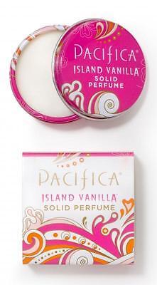 PACIFICA ISLAND VANILLA SOLID PERFUME Balm Honey Jasmine Notes VEGAN Fragrance