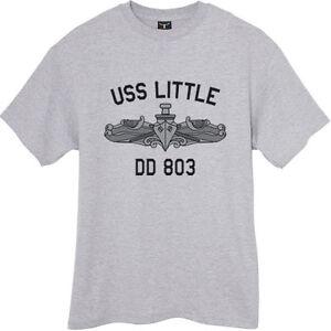 US-USN-Navy-USS-Little-DD-803-Destroyer-T-Shirt