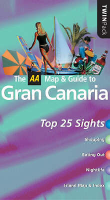 AA Twinpack Gran Canaria (AA TwinPack Guides)   Book