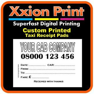 Zoho Invoice Free Pdf  X  Custom Printed Taxi  Minicab Receipt Pads  Ebay Invoice Open Source with Invoice Price Of New Cars Word Image Is Loading Xcustomprintedtaximinicabreceipt Express Invoice Free Version Pdf