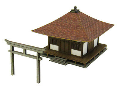 Sankei MP01-90 Japanese Temple 1/220 Z scale
