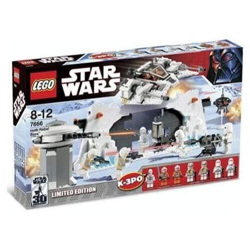 Lego Star Wars Classic Hoth Rebel Base  7666